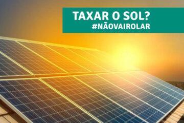 Taxa zero - Presidente da Republica afirma que governo não aceitará de maneira alguma a cobrança de taxas sobre a produção de energias sustentáveis.